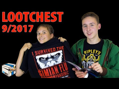 Lootchest Plus Unboxing 📦 September 2017 | Magicbiber
