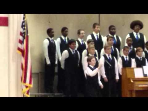 Jim C Bailey Middle School Chorus Concert