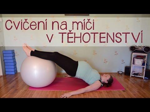 Trénink pro aktivní těhotné - II. díl