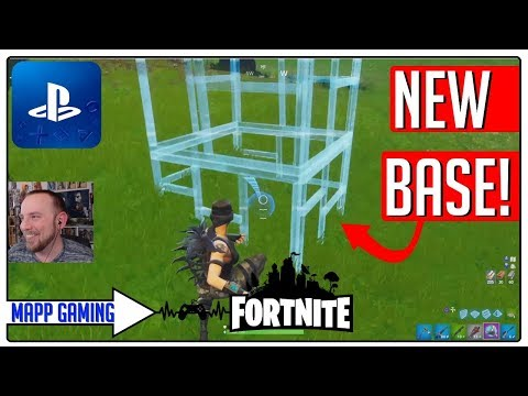 FORTNITE: NEW PORT-A-FORT & NEW PS4 CONTROLS ARE AMAZING!