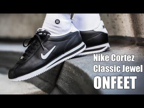primavera capacidad Puntuación  Nike Cortez Classic Leather Jewel