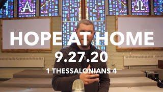 Sunday Worship Service 9.27.20