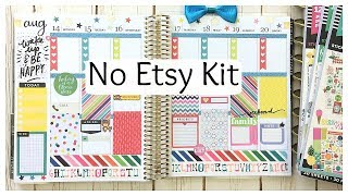 Plan With Me - Happy Planner Sticker Books | No Etsy Kit