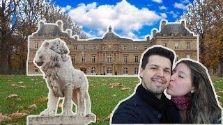 Viagem Paris Ep. 07 - Jardim de Luxemburgo | Sorveteria Amorino