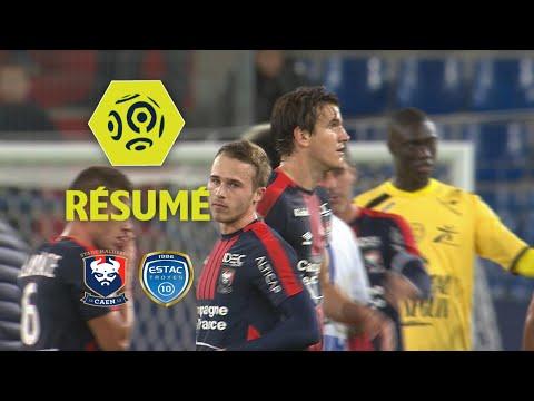 SM Caen - ESTAC Troyes (1-0)  - Résumé - (SMC - ESTAC) / 2017-18
