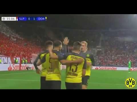 Slavia Praha vs Dortmund 0-2 Highlights & All Goals 02/10/2019 HD
