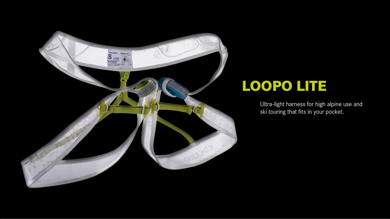 Choucas Light Klettergurt : Edelrid loopo light de youtube