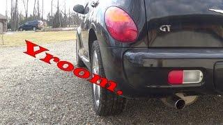 2004 PT Cruiser GT Turbo Stock Exhaust Sounds + Bonus