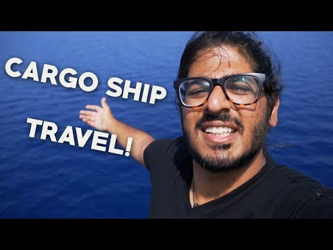 CARGO / CONTAINER SHIP TRAVEL LOCATIONS! - Where should you sail?