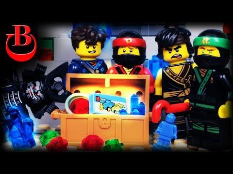 Lego Ninjago Movie Treasure Hunt