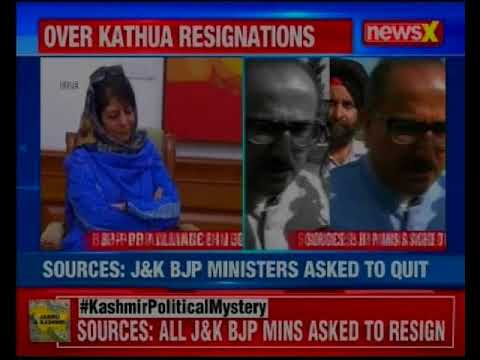 All BJP Ministers In Jammu And Kashmir Government To Resign: Sources