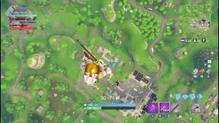 Fortnite surviving from maximum height teleporting glitch