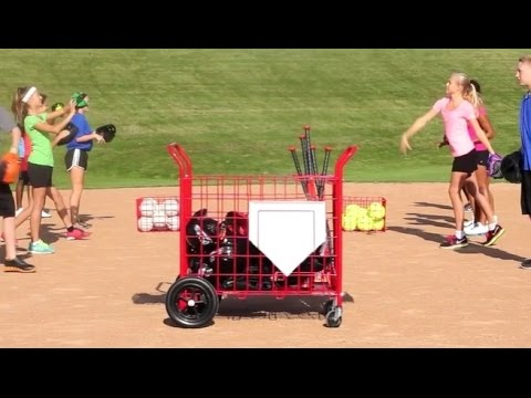 DiamondKing™ Baseball/Softball Cart | Gopher Sport