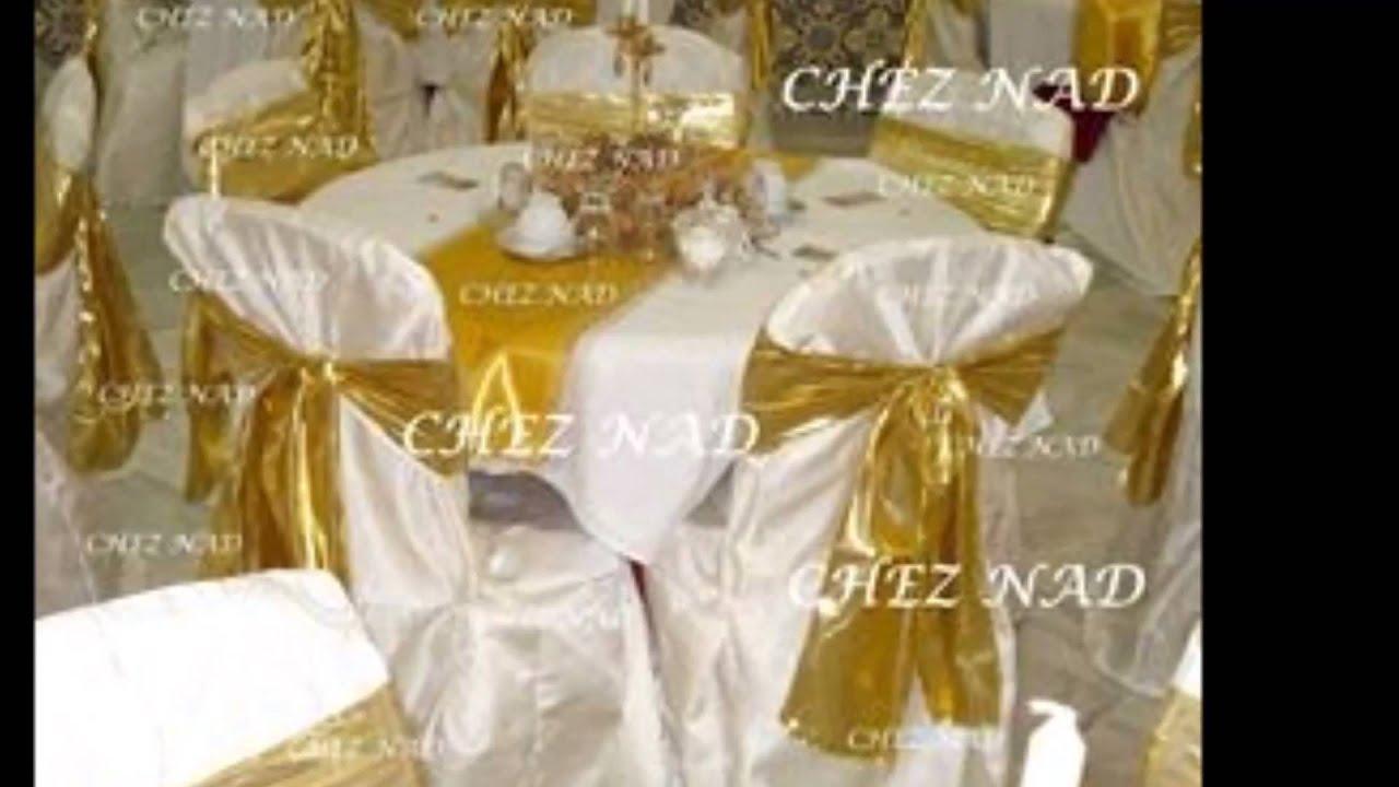 Decoration de mariage de fetes d 39 evenement alger chez nad youtube - Decoration salle des fetes alger ...