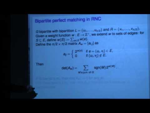 Bipartite perfect matching is in quasi-NC - Fenner