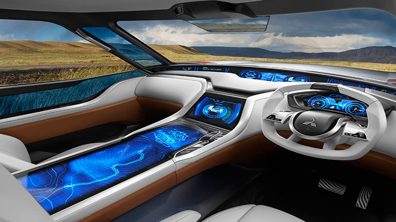 bmw 39 s futuristic new concept car interior uses holograms youtube