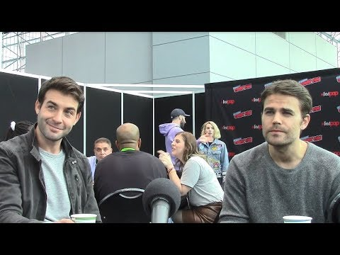 Tell Me a Story - Paul Wesley, James Wolk Interview (New York Comic Con)