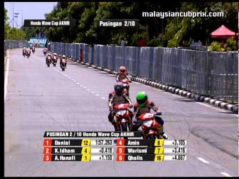 2012 Honda Wave Junior Challenge Cup Champion - Khairul Idham Pawi