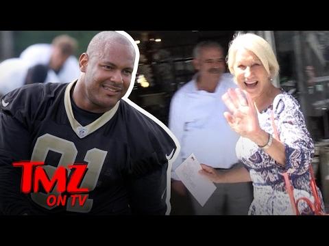Helen Mirren Follows Ex-NFL Star Will Smith On Instagram...But WHY?! | TMZ TV