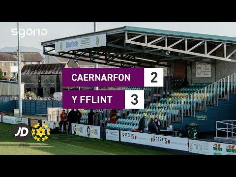 Caernarfon Flint Goals And Highlights