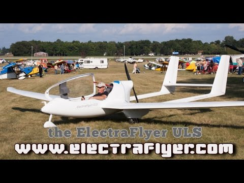 ElectraFlyer-ULS Electric Powered Ultralight Motorglider.