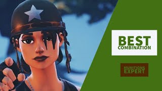 Best Combos | Munitions Expert | Fortnite Skin Review