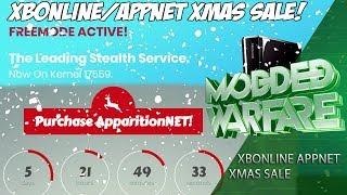 XBOnline & ApparitionNET Christmas Sale