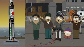 South Park ROASTING MEXICAN SPACE PROGRAM