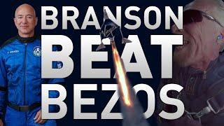 Branson Beat Bezos   TMRO:News