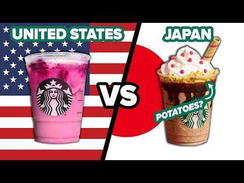 American Vs. Japanese Starbucks