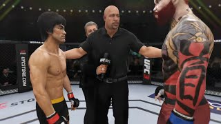 Download Bruce Lee vs. Red Killer (EA Sports UFC 3) - Epic Battle 💯 Mp3 and Videos