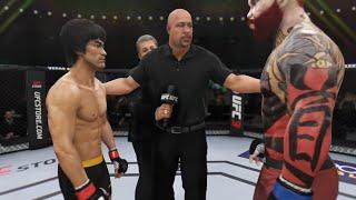 Bruce Lee vs. Red Killer (EA Sports UFC 3) - Epic Battle 💯