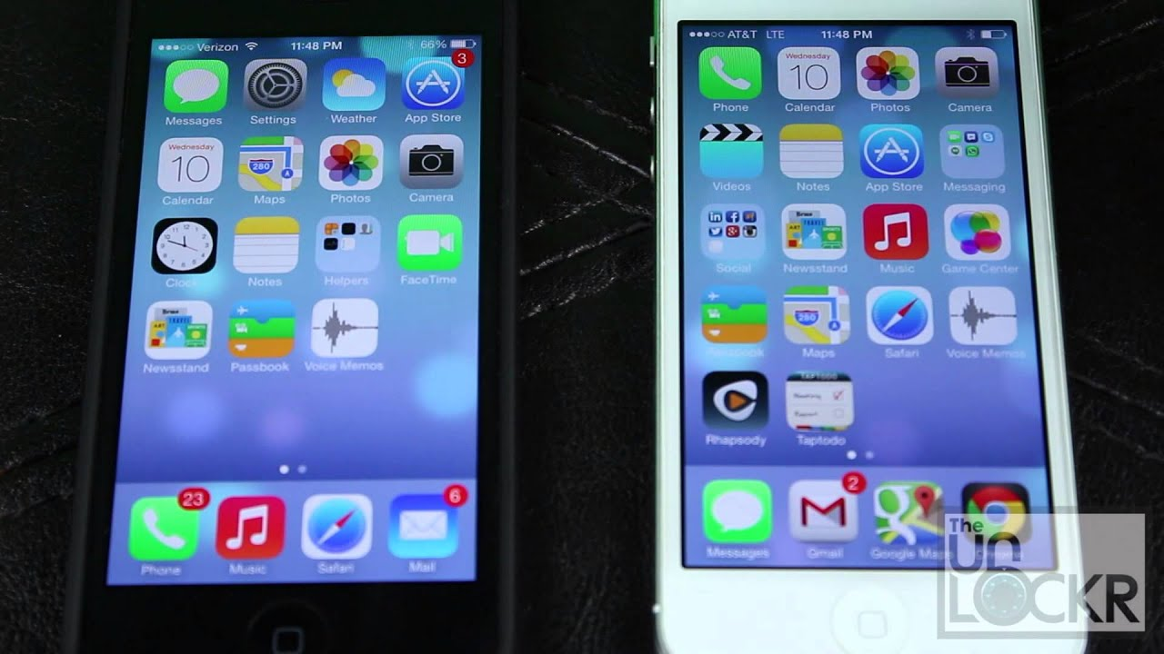 How To Use Airdrop On The Iphone In Ios 7 Youtube