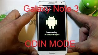 Galaxy Note 3 Download or odin mode