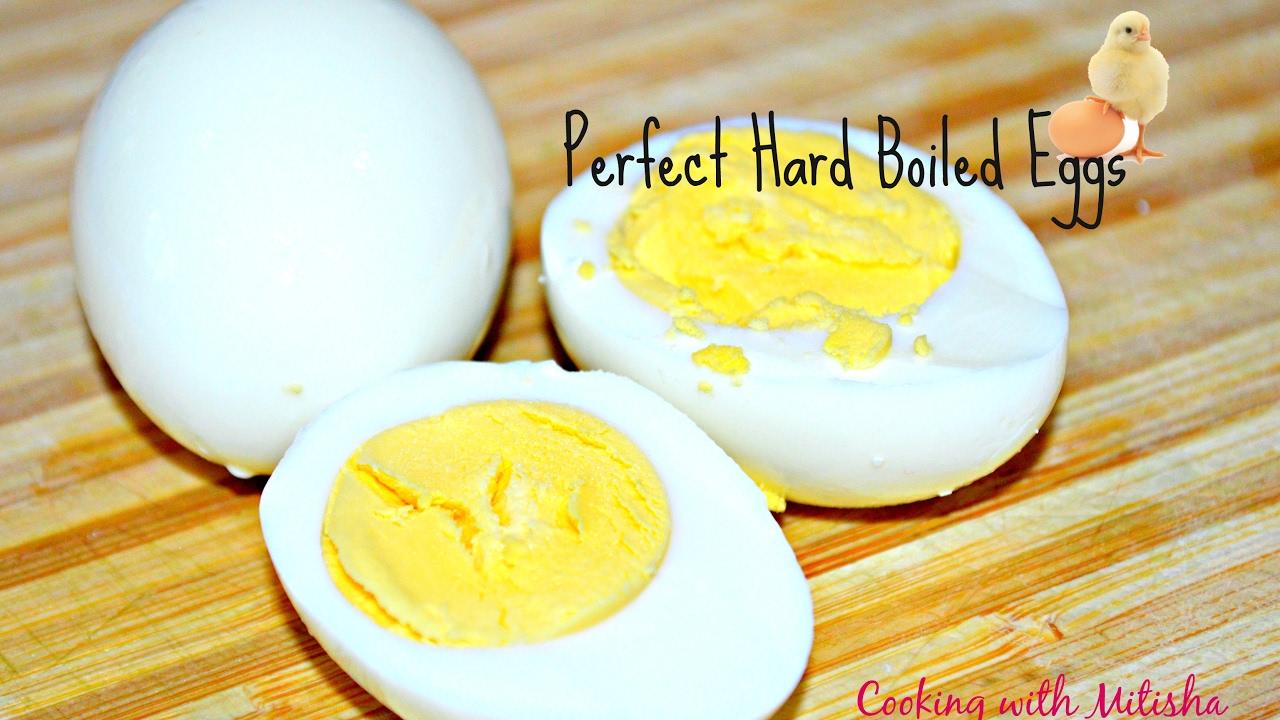 How To Boil Eggs  Perfect Hard Boiled Eggs  How To Make Easypeeling Hardboiled  Eggs