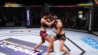 Jedrzejczyk vs NamajunasEA SPORTS™ UFC® 3