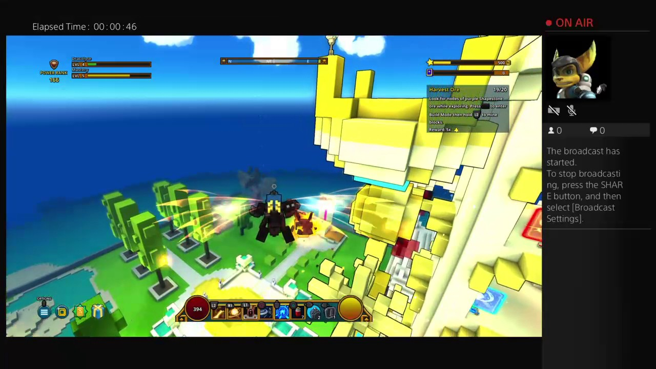 trove how to go to hub