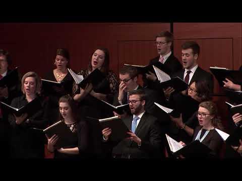 MSU University Chorale | Spanisches Liederspiel, Op. 74 V. Es ist verrathen by Schumann | 4.1.2017
