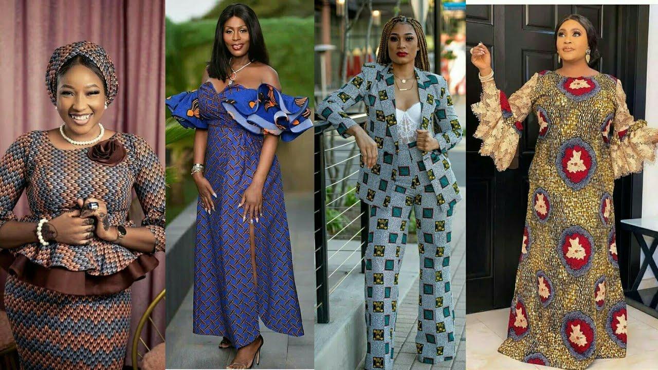 MODÈLE EN PAGNE POUR FEMMES / modèle de robe Africaine  African ...
