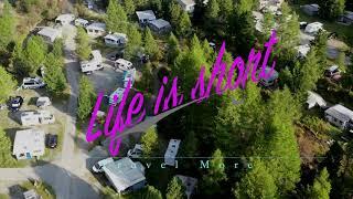 Fantastischer Campingplatz in Morteratsch Engadin in der Schweiz