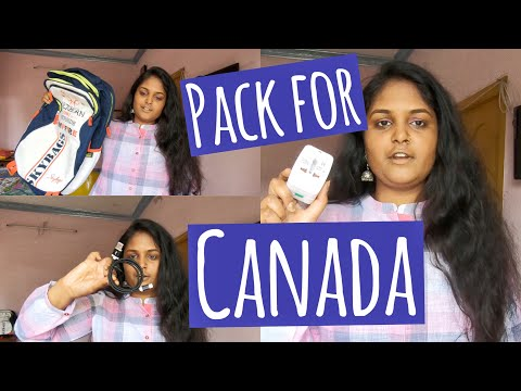 What To Pack For CANADA 🇨🇦?