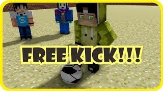 Tendangan Bebas with 4Brothers, Anto, dan Stresmen    Minecraft Animation