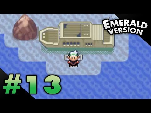 Let's Play Pokemon: Emerald - Part 13 - Abandoned Ship
