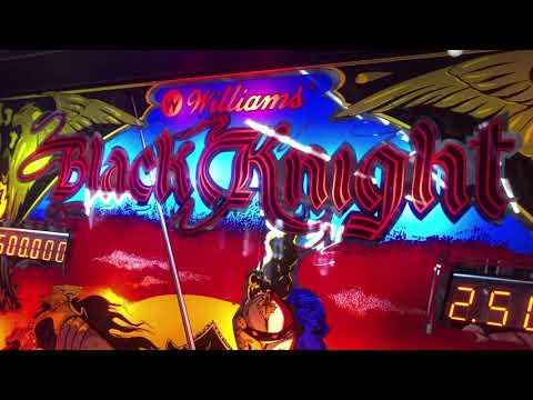 Williams 1980 Black Knight Pinball Machine