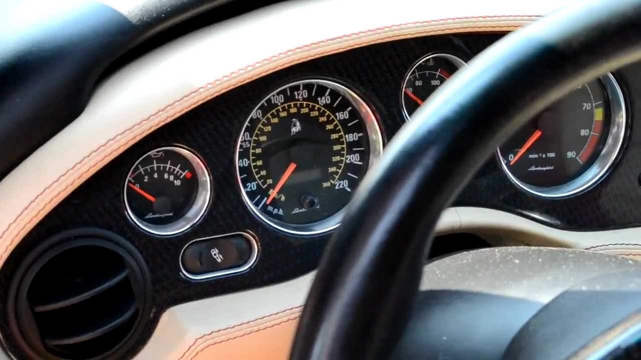 01 Lamborghini Diablo Interior Details Walkaround Hd Youtube