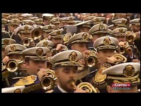 Banda Tres Caidas (Triana) Cantando. Congreso Bandas 2015