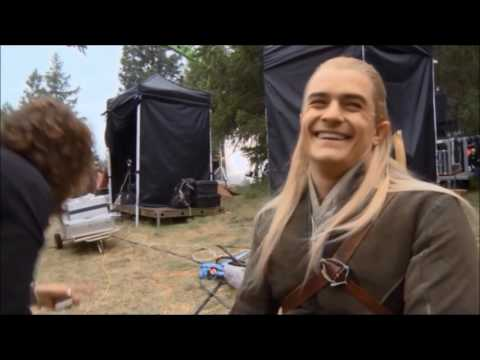 The Hobbit/ Legolas Bloopers and Outtakes