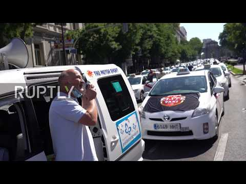 Spain: Madrid taxi drivers demand regulation as sector hit by COVID pandemic