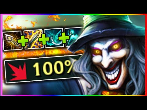 100% CRIT SHACO JUNGLE! New Item Reworks Are NOT Fair On This Champ!