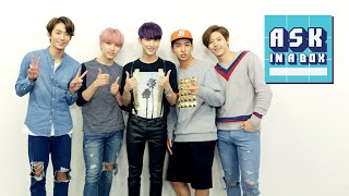 ASK IN A BOX: B1A4(비원에이포) _ Sweet Girl(스윗걸) [ENG/JPN/CHN SUB]